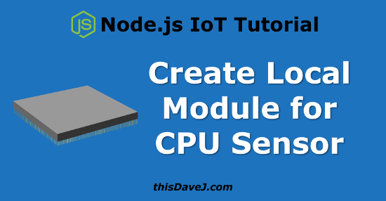 CPU Sensor Local Module