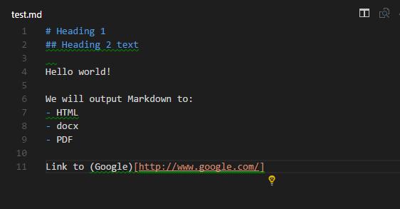 Build an Amazing Markdown Editor Using Visual Studio Code and Pandoc