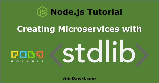 Creating Node js Microservices with Ease Using Stdlib