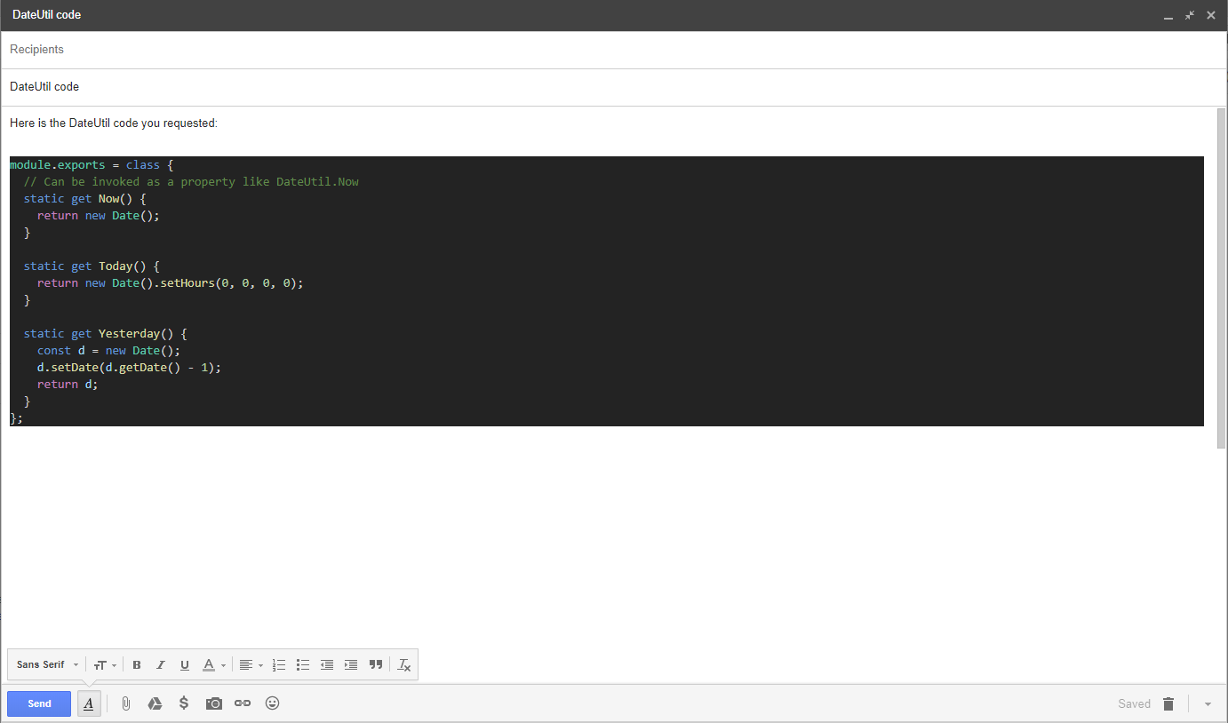 How to Copy Visual Studio Code with Syntax Highlighting to Other
