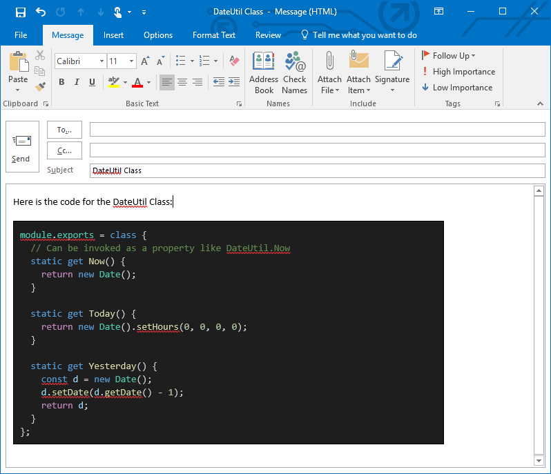 How to Copy Visual Studio Code with Syntax Highlighting to