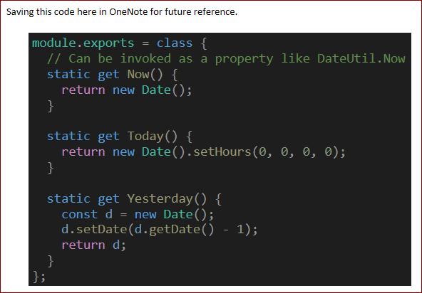 onenote-code